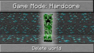 Minecraft Hardcore Mode Is Terrifying (S2E1)