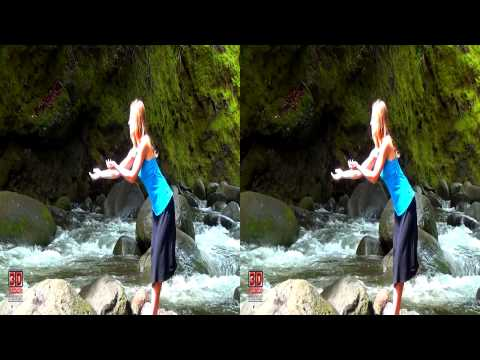 3D Video extreme!!! (evo 3D Works) 3D Girl Hawaii Nature Scene 3D Video Everyday