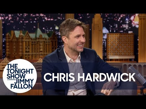 Chris Hardwick Photobombed Ron Howard