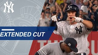 Watch the Yankees jump out to an early four run lead in ALDS Game 4