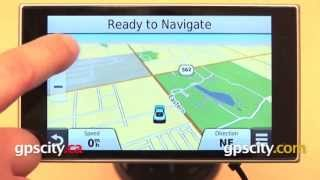 Garmin nuvi 3597LMTHD: Map Screen Overview with GPS City
