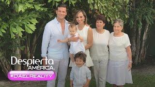 #DAelReality: Los hijos de Satcha Pretto conocieron a su bisabuela