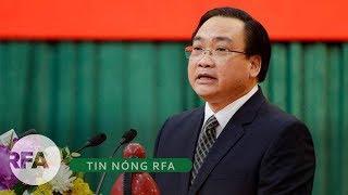 Tin nóng RFA   Sai phạm của bí thư Hà Nội Hoàng Trung Hải bị xem xét để kỷ luật