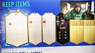 OMG I PACKED 3 ICONS IN 10 PACKS!! FIFA 19