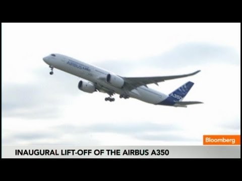 Airbus Sends A350 Skyward In Inaugural Test Flight - Smashpipe News