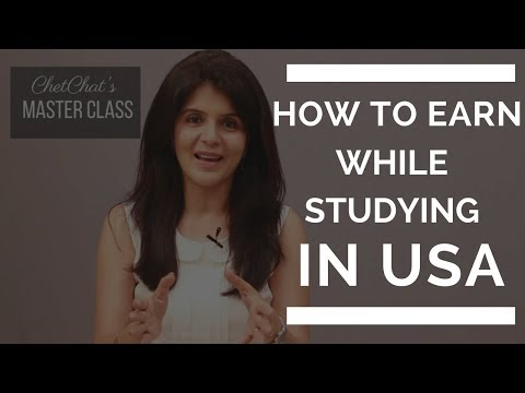 How To Make Money As A Student While Studying in USA