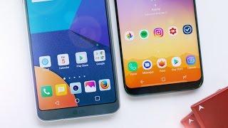 Galaxy S8 vs LG G6: MrMobile vs MKBHD!
