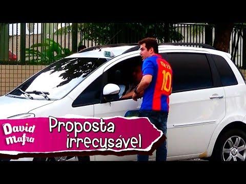 PEGADINHA: Proposta sedutora / Taxi Prank