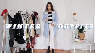 Winter Outfit Ideas | how to style for winter