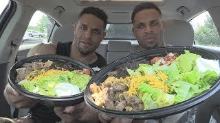 TACO BELL POWER MENU CHICKEN & STEAK BOWL @HODGETWINS