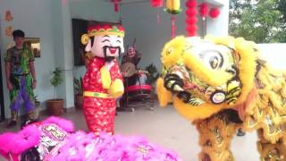 CNY 2017 Lion Dance at Old Folks 得胜老人之家 Victory House