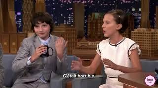 Finn Wolfhard et Millie Bobby Brown parlent du Premier Baiser | VOSTFR Traduction Française