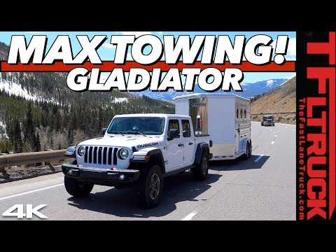 The 2020 Jeep Gladiator Takes On The World's Toughest Towing Test Fully Loaded: Super Ike S.3 Ep.1