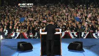 Obama Victory Speech 2008