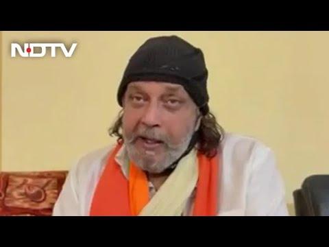 Bollywood actor Mithun Chakraborty on joining BJP