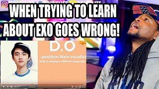 An Unhelpful Guide to EXO | New Fan Pronouncing EXO Names Wrong Funny!!! | REACTION!!!