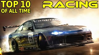 THE BEST 10 RACING GAMES OF ALL TIME