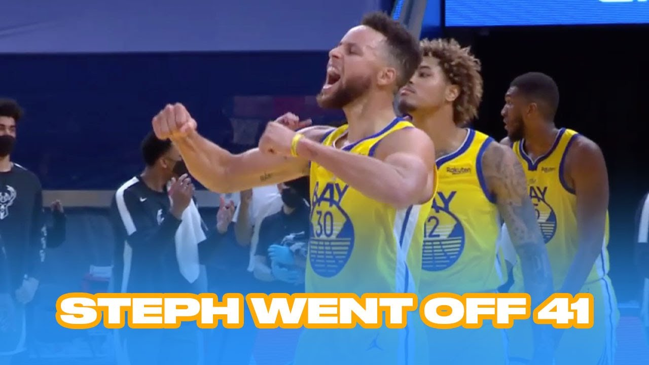 Steph Curry Fights Through Injury in a Unreal Comeback Win
