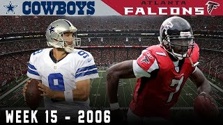 Romo & Vick Battle for Playoff Positioning! (Cowboys vs. Falcons, 2006) | NFL Vault Highlights