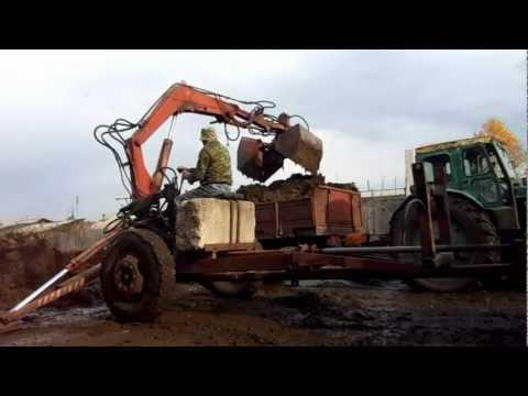 Навеска сам себя грузит на тракторт-16 чертеж фото