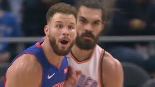 Blake Griffin Has Become TOO GOOD & Steven Adams Is TOO UNDERRATED! Thunder vs Pistons