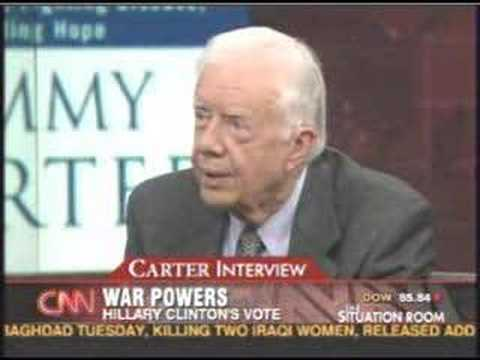"""Jimmy Carter: \""""Horrible Mistake to Attack Iran\"""""""