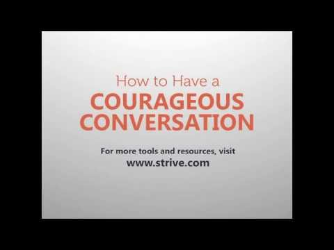 How to Have a Courageous Conversation