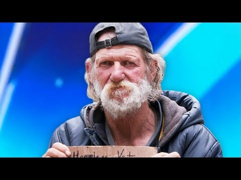 Homeless Man Goes On America's Got Talent - His Life Will Never Be The Same