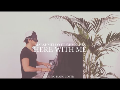Marshmello ft. CHVRCHES - Here With Me (Piano Cover + Sheets)