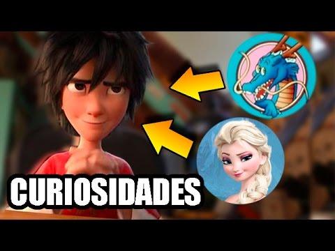 Curiosidades de Big Hero 6 Pelicula / Fun Facts Big Hero 6 Movie