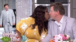 Loni Love KISSES her boyfriend James Welsh LIVE on her show + MORE!