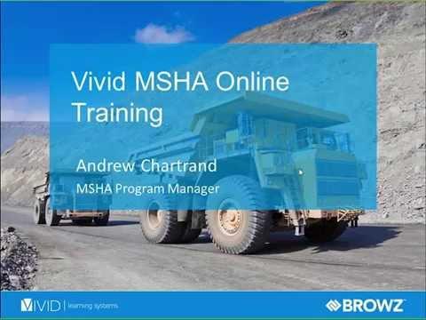 [Webinar] Introducing MSHA Online Training