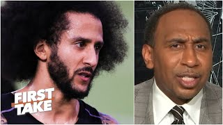 Stephen A. reacts to the Chargers' interest in Colin Kaepernick | First Take