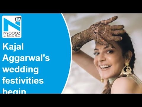 Kajal Aggarwal shares Mehendi function pic with fans