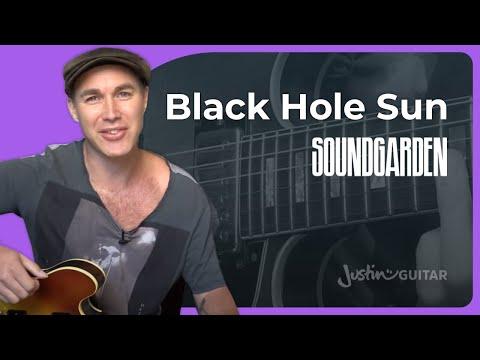 soundgarden black hole sun guitar lesson black hole sun guitar lesso. Black Bedroom Furniture Sets. Home Design Ideas