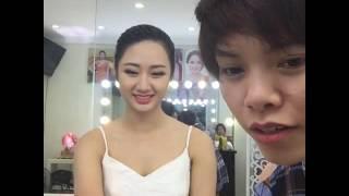 Ngày cuối tuần cùng Hoa hậu Bản sắc Việt Trần Thu Ngân| Mai Phan Makeup