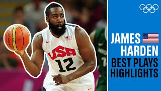 James Harden 🏀BEST plays from London 2012!
