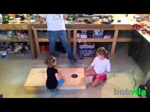 DIY Kids: Build Your Own Cornhole Set