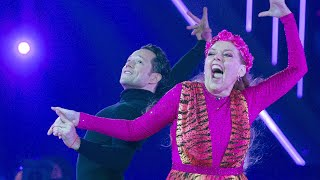 Carole Baskin Dances to 'Eye of the Tiger' on 'DWTS'