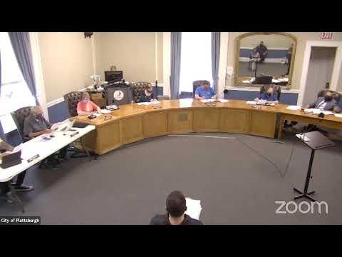 Plattsburgh Common Council Meeting  5-20-21
