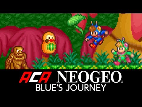 ACA NEOGEO BLUE'S JOURNEY Trailer
