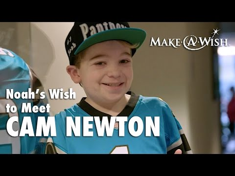 Noah's Wish to Meet Cam Newton
