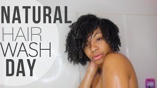 Natural Hair Wash Day | Glamazontay