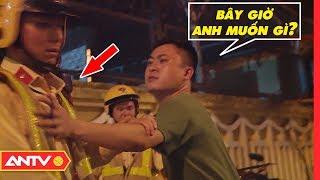 'Ma men' làm 'càn' lao vào đấm Cảnh sát giao thông và cái kết   Kỹ năng sống [số 101]   ANTV