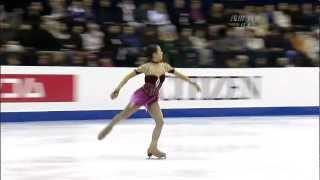 Mao Asada 2008 Four Continents Championships FS Fantaisie Impromptu