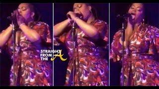 Jill Scott and Her Microphone Go Viral... 👀