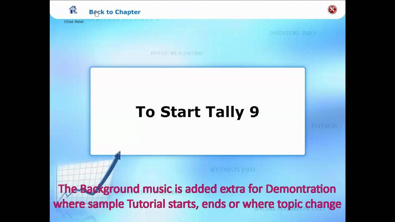 Tally Erp 9 Tutorial Learn Tally Erp 9 Full Tutorial