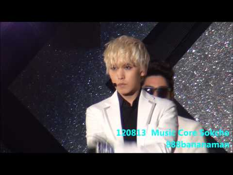 [fancam] 120813 Music Core in Sokcho  Super Junior  『 Sexy, Free & Single 』 Focus Sungmin