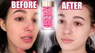 I Tried HALO BEAUTY Booster Pills For a Whole MONTH... Brutally Honest Review!