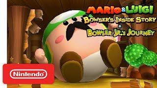 Mario & Luigi: Bowser's Inside Story + Bowser Jr.'s Journey - Story Trailer - Nintendo 3DS